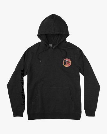 1 Boy's ANP Pack Hoodie Black B611VRAP RVCA