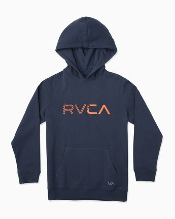 SCRATCHED RVCA HOODIE B624TRSC