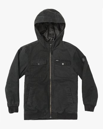 HOODED BOMBER II  B703WRHB
