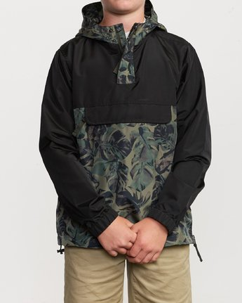 2 Boys Killer Anorak Jacket Green B722VRKI RVCA