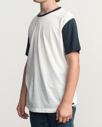 2 Boy's Pick Up II Knit Shirt White B902QRPU RVCA