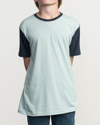 1 Boy's Pick Up II Knit Shirt Blue B902QRPU RVCA