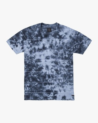 1 Boys DELIRIUM CREW SHORT SLEEVE T-SHIRT Blue B9038RDC RVCA