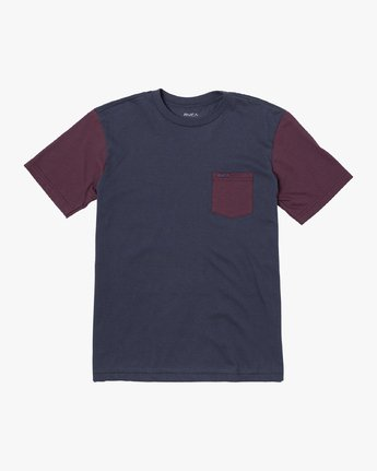 OLLIE COLOR BLOCK TEE  B905UROL