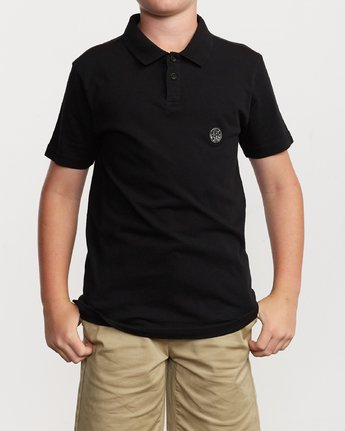 1 Boy's Delancy Polo Shirt  B908VRPP RVCA