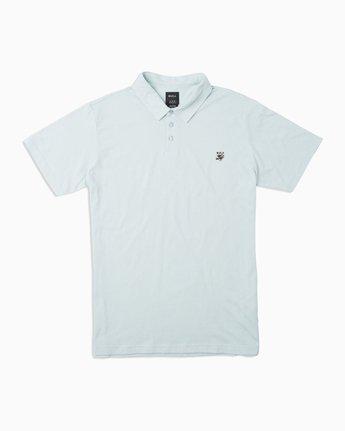 0 Boy's Sure Thing ANP Polo Shirt Blue B915TRSU RVCA