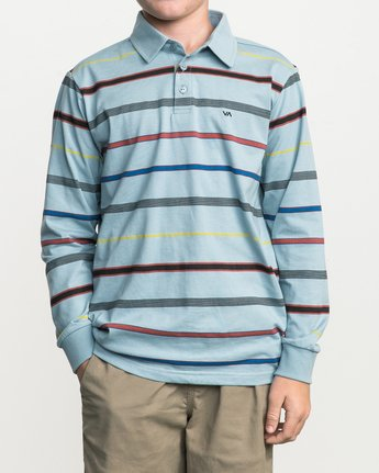 1 Boy's Sure Thing Striped Polo  B952SRSP RVCA