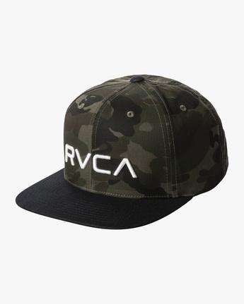 RVCA TWILL SNAPBACK II BOYS  BAAHWRTS