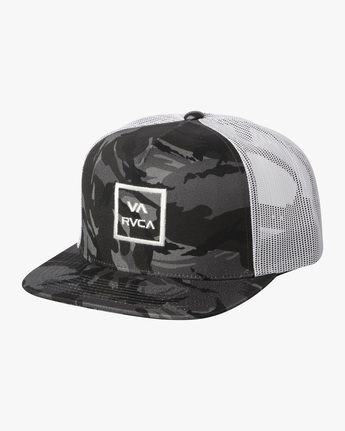 0 BOYS VA ATW TRUCKER HAT Black BAAHWVAA RVCA