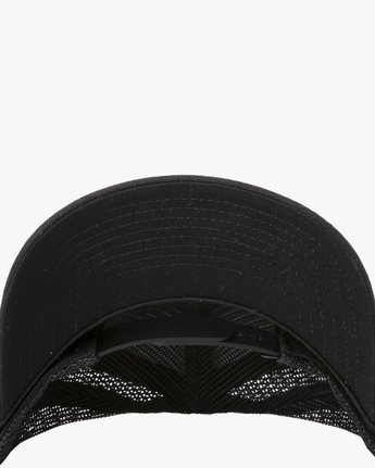 3 BOYS VA ATW CURVED HAT Black BAHW3RVA RVCA