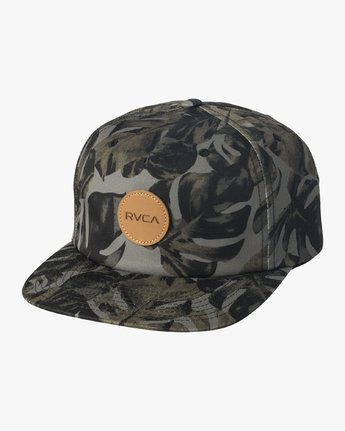 LEAVES STRAPBACK  BAHWVRLV