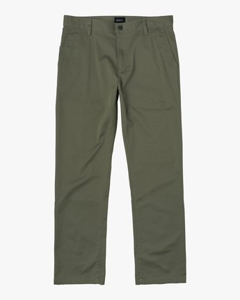 7 Boys WEEKDAY STRETCH straight fit PANT Green BC301WDS RVCA
