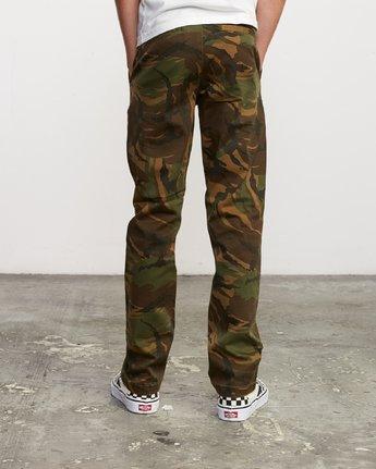 3 Boy's Weekday Stretch Pants Camo BC301WDS RVCA
