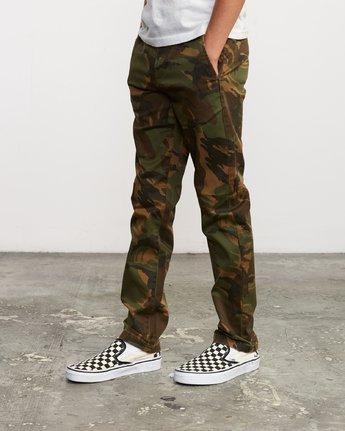 1 Boy's Weekday Stretch Pants Camo BC301WDS RVCA
