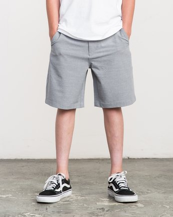 1 Boy's That'll Walk Oxford Short  BK202TWO RVCA