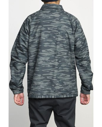 4 VA ALL THE WAY COACH JACKET Camo F1JKGBRVF7 RVCA