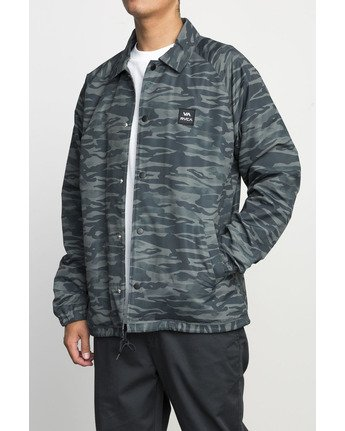 2 VA ALL THE WAY COACH JACKET Camo F1JKGBRVF7 RVCA