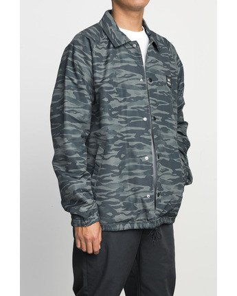 3 VA ALL THE WAY COACH JACKET Camo F1JKGBRVF7 RVCA