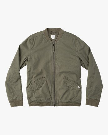 0 ALL CITY BOMBER  F1JKRFRVF7 RVCA