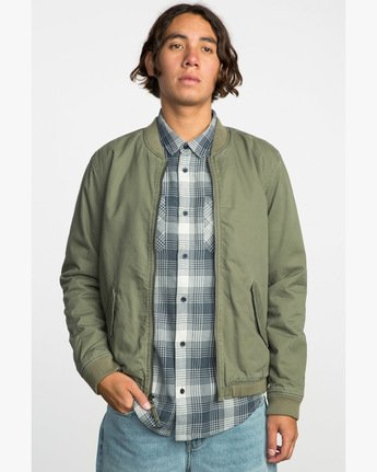 1 ALL CITY BOMBER  F1JKRFRVF7 RVCA