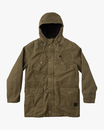 0 GROUND CONTROL PARKA  F1JKRJRVF7 RVCA