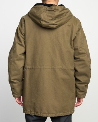 4 GROUND CONTROL PARKA  F1JKRJRVF7 RVCA