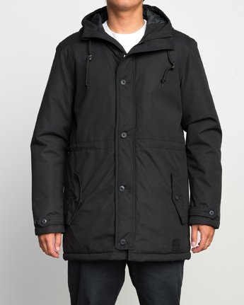 1 NO BOUNDARIES PARKA  F1JKRKRVF7 RVCA