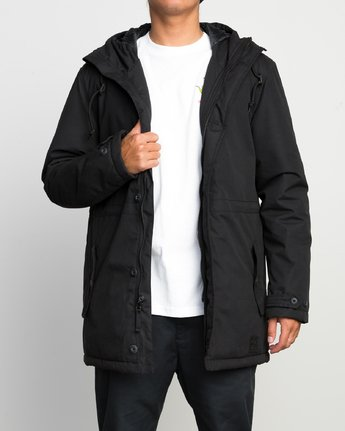 2 NO BOUNDARIES PARKA  F1JKRKRVF7 RVCA
