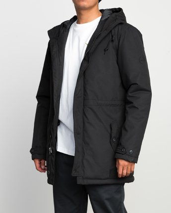 3 NO BOUNDARIES PARKA  F1JKRKRVF7 RVCA