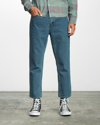 FLOOD DENIM NO WAVE  F1PNRERVF7