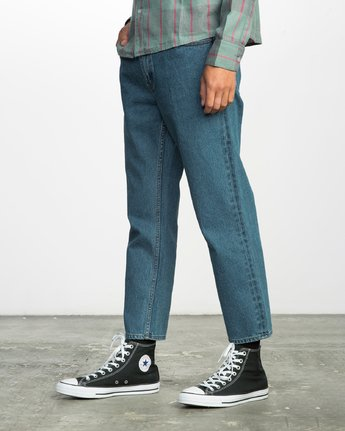 1 FLOOD DENIM NO WAVE  F1PNRERVF7 RVCA