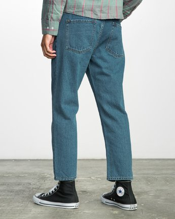 2 FLOOD DENIM NO WAVE  F1PNRERVF7 RVCA