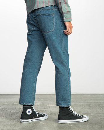 4 FLOOD DENIM NO WAVE  F1PNRERVF7 RVCA