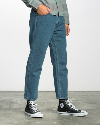 5 FLOOD DENIM NO WAVE  F1PNRERVF7 RVCA