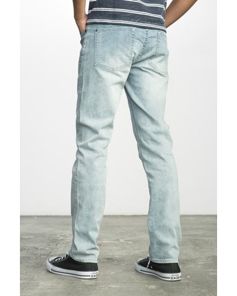 2 HEXED DENIM Blue F1PNSBRVF7 RVCA