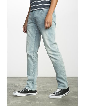 1 HEXED DENIM Blue F1PNSBRVF7 RVCA