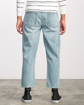 3 FLOOD DENIM-NEUTRAL  F1PNSERVF7 RVCA
