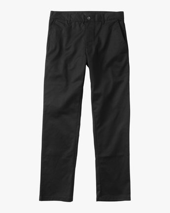 6 Weekend Stretch  - Trousers Black F1PTRARVF7 RVCA