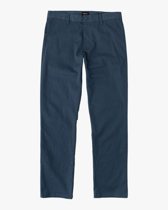 4 Weekend Stretch  - Pantaloni da Uomo Blue F1PTRARVF7 RVCA