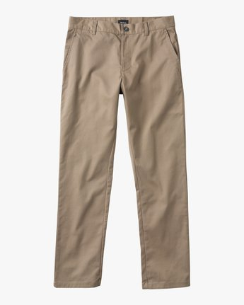 4 Weekend Stretch  - Trousers Green F1PTRARVF7 RVCA