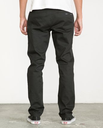3 Weekend Stretch  - Trousers Black F1PTRARVF7 RVCA