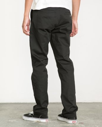 2 Weekend Stretch  - Trousers  F1PTRARVF7 RVCA