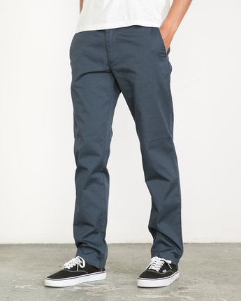 Weekend Stretch Slim-Straight Pants  F1PTRARVF7