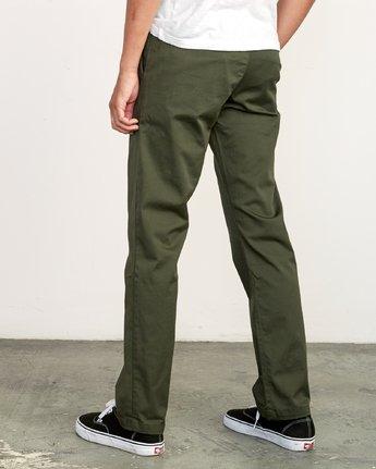 2 Weekend Stretch  - Pantalones para Hombre Verde F1PTRARVF7 RVCA