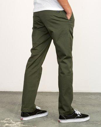 3 Weekend Stretch  - Pantalones para Hombre Verde F1PTRARVF7 RVCA
