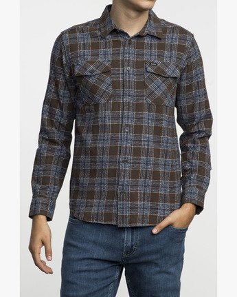 1 THAT'LL WORK FLANNEL  F1SHRIRVF7 RVCA