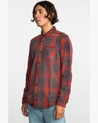 2 NEUTRAL PLAID LS  F1SHRNRVF7 RVCA