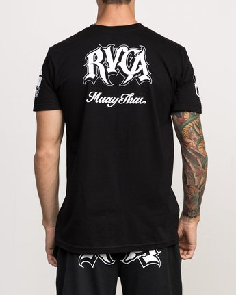 5 MISTER CARTOON FIGHT TEE  F4SSMARVF7 RVCA