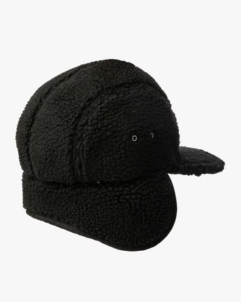 1 BOA FLEECE HOTH CAP Black GVYHA00100 RVCA