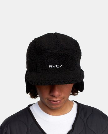 4 BOA FLEECE HOTH CAP Black GVYHA00100 RVCA